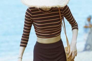 玩水也要美美哒依据身段选对泳衣布料少也能显瘦遮肉